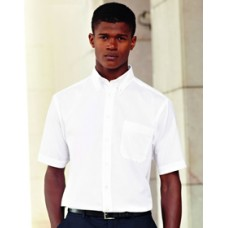 SS100M Fruit of the Loom Short Sleeve Oxford Shirt